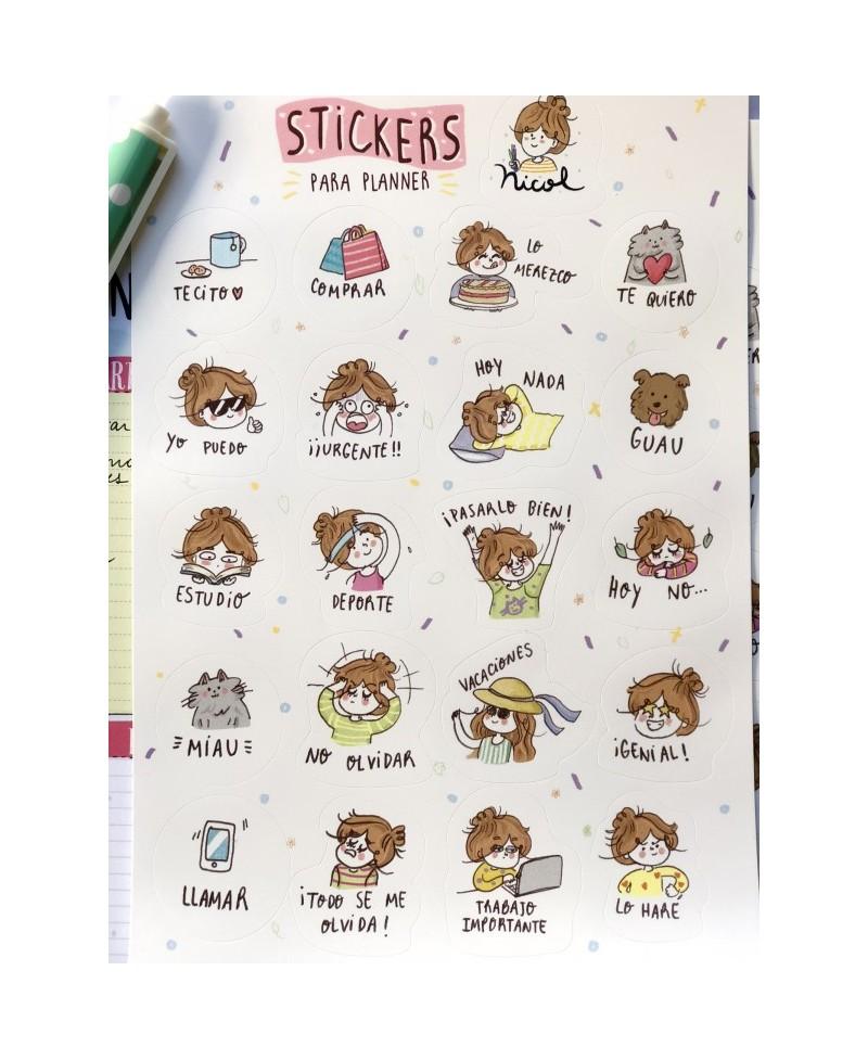 Stickers para planner