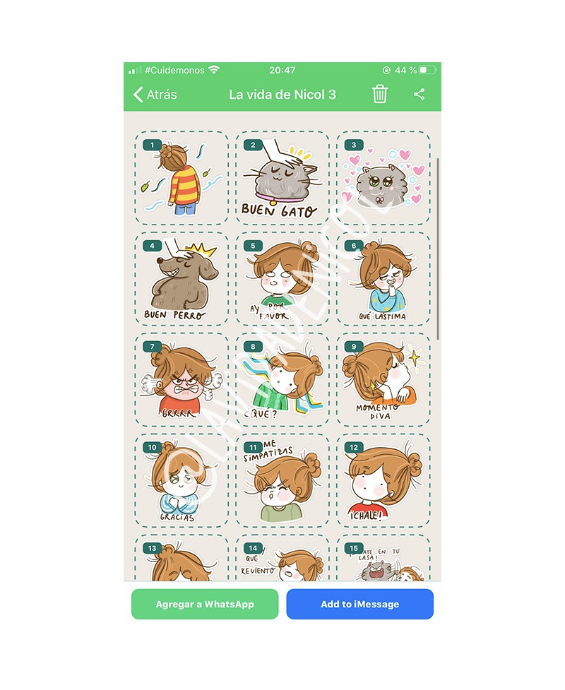 STICKERS WHATSAPP pack 3