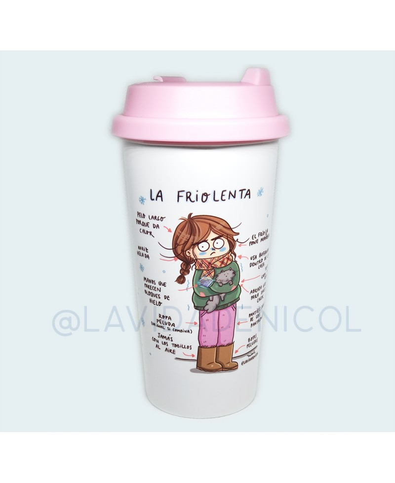 Travel mug Friolenta