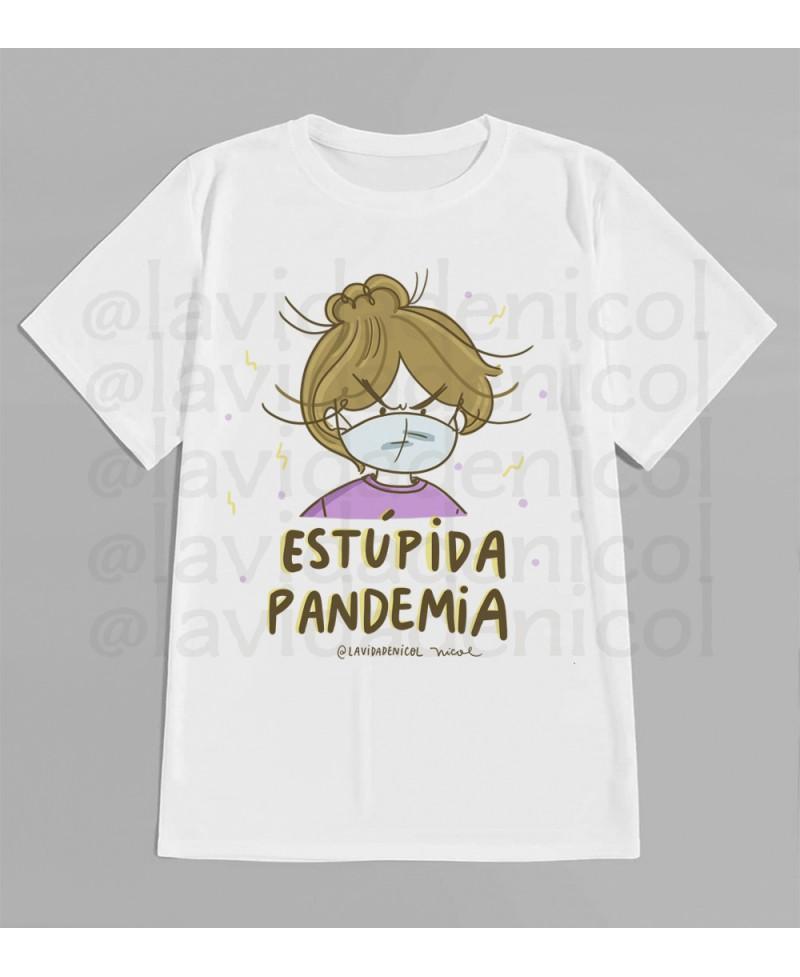 Polera Estupida Pandemia