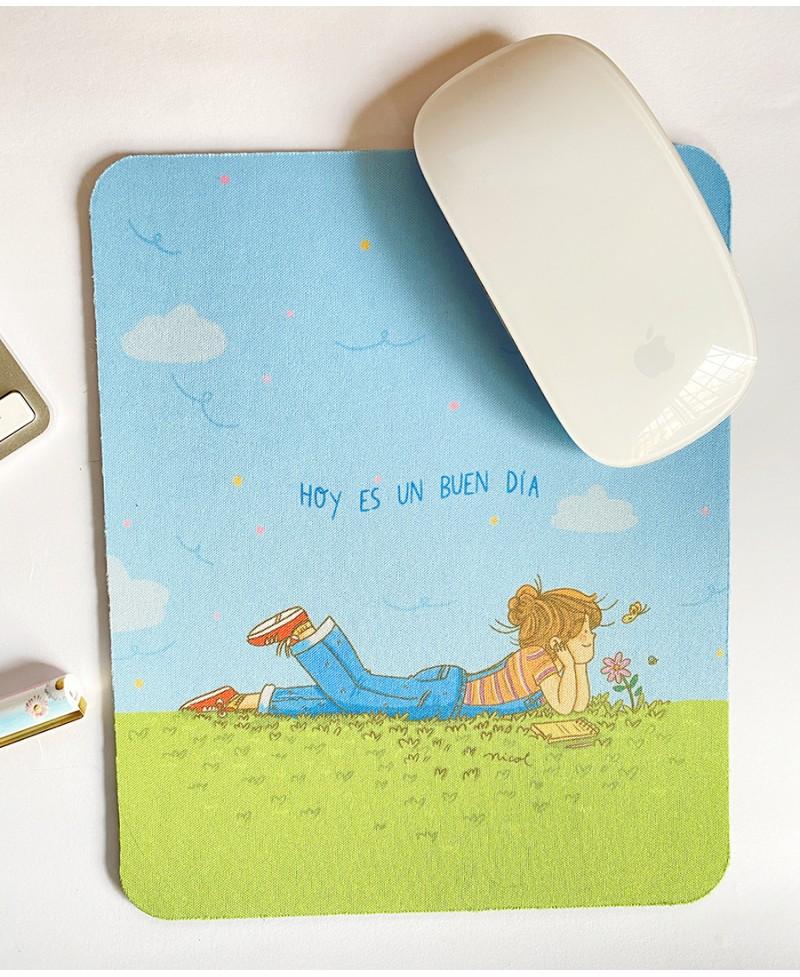 Mouse pad buen día