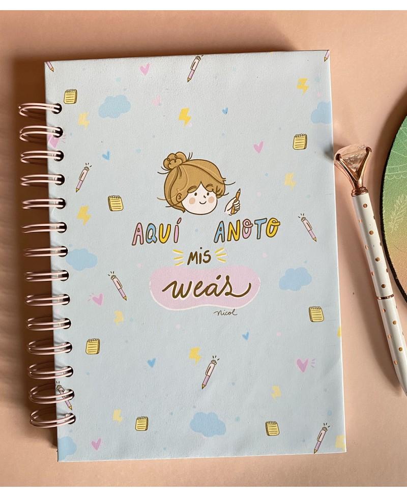 Cuaderno Weás